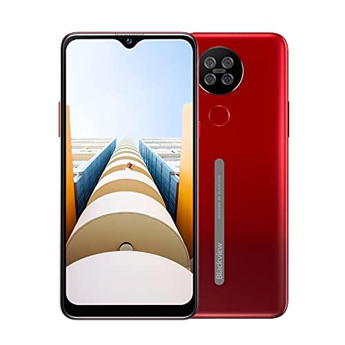 "Blackview A80s Smartphone, Moviles Baratos 4G,6.21""HD+ Waterdrop Display, Cámara 13MP+5MP, Octa-Core 4GB RAM +64GB ROM..."
