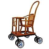 Cunas de viaje Baby Cart Light Bamboo Cochecito De Bebé Silla De Bambú Y...