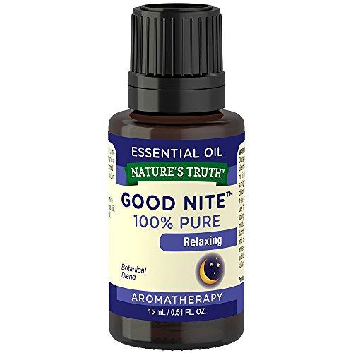 Nature's Truth Essential Oil, Good Nite, 0.51 Fluid Ounce, Multicolor