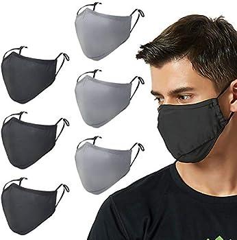 6-Pack Tarte Unisex Cotton Reusable Face Mask