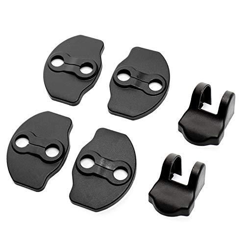 [4 Stück] CDEFG Auto Türschlossabdeckung für Model 3 Model Y Door Lock Cover Zubehör Türverriegelung Abdeckung