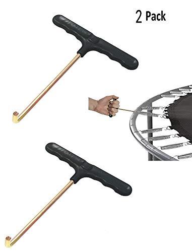 TAKSON Trampolin Spring Werkzeug Frühjahr Pull Werkzeug T-Hook (2 Pack)