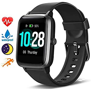 Fashion Shopping Blackview Smart Watch for Android Phones and iOS Phones, All-Day Activity Tracker with Heart Rate Sleep Monitor, 1.3…