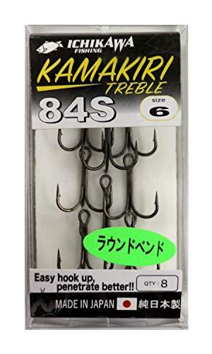 イチカワフィッシング カマキリ トレブル 84S ICHIKAWA FISHING #6 9本入り