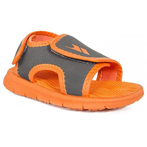 Trespass - Sandalias Modelo Lukas para niños (24 EU) (Naranja)