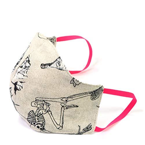 Maske für Mund und Nase Damen Mexiko waschbar bis 60°C