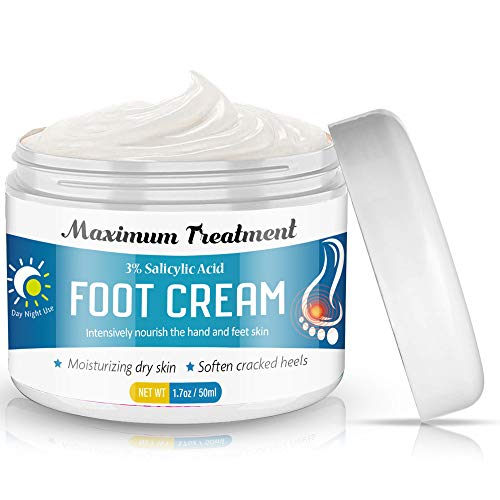 Foot Cream, zeBrush Organic Foot Healing Cream, Natural Moisturizes Nourishes Softens Dry, Rough, Cracked, Dead Skin to Make Foot Smooth, 50 Ml