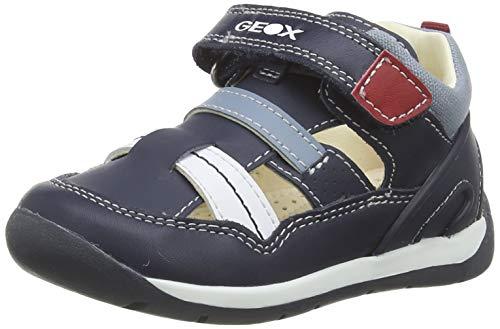 Geox B Each Boy A, Zapatillas para Niños, Azul (Navy/White C4211), 23 EU