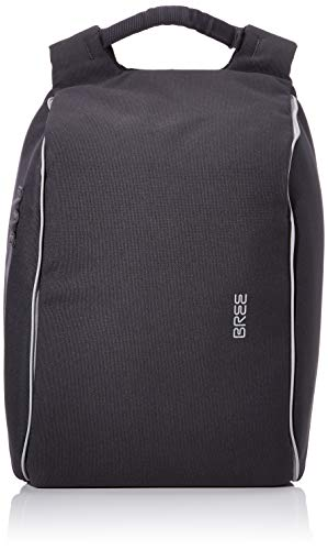 BREE Unisex-Erwachsene PNCH Urban Travel. 1 backpack Rucksack, Grau (Dark Grey), 15.5x43x28 cm