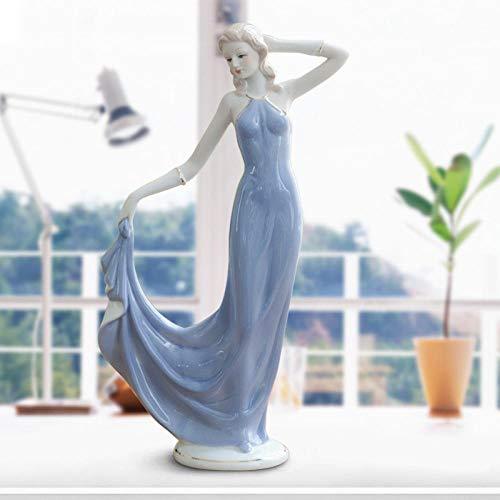 Amuuuz Baile de Ballet Estatua Femenina Personaje Obra de Arte Girls Dance Ballet Estatua Figura Diosa artesanía decoración de la habitación Regalo Mejores Regalos para Negocios de cumpleaños