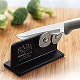 Rada Cutlery Quick Edge Knife Sharpener – Stainless Steel Wheels...