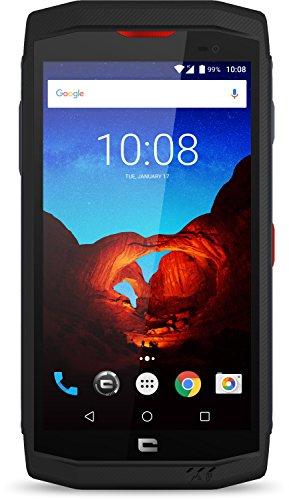 Crosscall Trekker-X3 Smartphone Resistente, 5'' - 32 GB Espandibili, Single SIM, Android, Nero