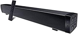TV Soundbar, TF Playback Bluetooth Speaker Stereo Surround Sound Built-in Microphone Environmentally Friendly Suitable for...