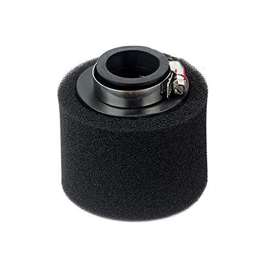 Luftfilterzubehör Luftfilter Roller Reiniger Runde Universal-Mini Haltbares Thema Off Road Motorrad Sponge Ersatz Vergaser Zubehör Luftfilter (Color : Black 40mm)