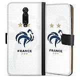 DeinDesign Étui Compatible avec Xiaomi Mi 9T Pro Étui Folio Étui magnétique Football France...