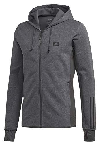 adidas Herren Jacke D2M Motion Fz Jacke, Dark Grey Heather, XL, GD5277