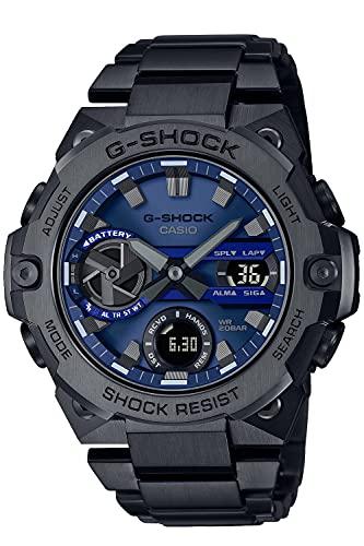 [カシオ] 腕時計 ジーショック G-STEEL スマートフォン リンク カーボンコアガード構造 GST-B400BD-1A2JF メンズ グレー
