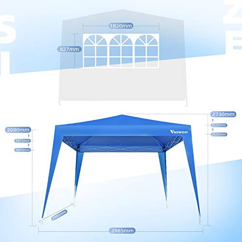 Viewee Carpa Plegable 3x3