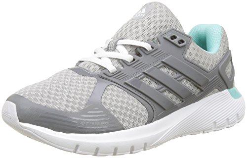 adidas Damen Duramo 8 W Laufschuhe, Grau (Grey Two F17/grey Three F17/energy Aqua F17), 36 2/3 EU
