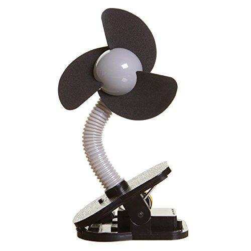 DreamBaby G278 Ventilateur pour poussette Noir