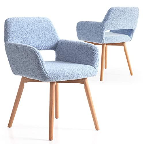 Sillas De Comedor De Madera Clara sillas de comedor de madera  Marca Irene House