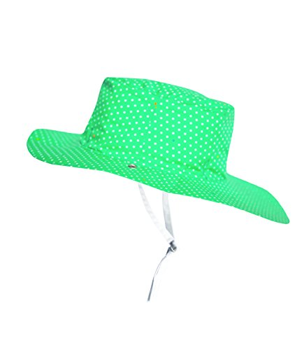 KI ET LA Ka1green Chapeau De Cowboy, Vert (Green), 47 (Taille Fabricant: 45/47 Cm) Mixte Enfant