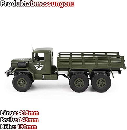 RC Auto kaufen Crawler Bild 4: HSP Himoto 2.4GHz RC Ferngesteuerter 6WD Off-Road Militär Army Truck Crawler Fahrzeug Transporter, Komplett-Set RTF*