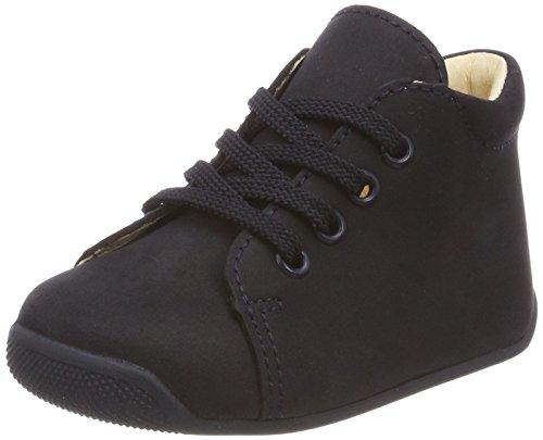 Däumling Unisex Baby Polly Sneaker, Blau (Nubuk Ozean), 22 EU