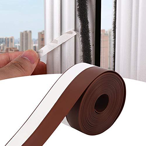 【𝐎𝐬𝐭𝐞𝐫𝐟ö𝐫𝐝𝐞𝐫𝐮𝐧𝐠𝐬𝐦𝐨𝐧𝐚𝐭】 Dichtungsstreifen, braune Fensterleiste, doppelseitiger Anti-Kollisions-Türkleber