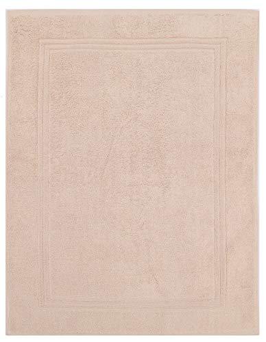 Betz Tapis de Bain XL Taille 60x97 cm 100% Coton qualité 950g/m² Gold Couleur Beige