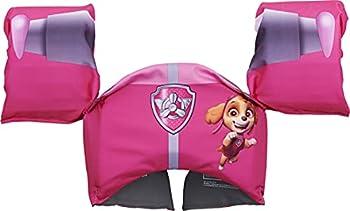 SwimWays Nickelodeon Paw Patrol Learn-to-Swim USCG Approved Kids Life Jacket Skye