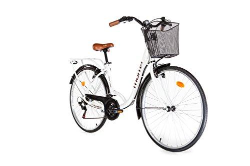 Moma Bikes City Classic 28' - Bicicleta Paseo, Aluminio , SHIMANO 18V