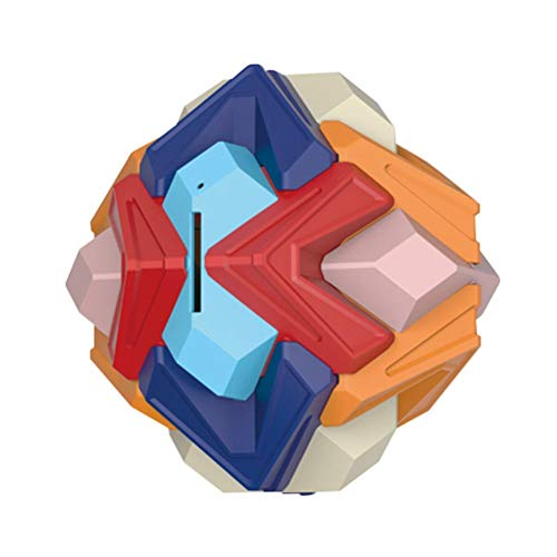 MAOJIE Building Blocks - Puzzle Ball Games Money Bank 3D Assembly Building Blocks Educational Toys for Kids
