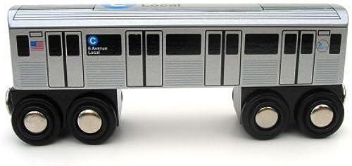 NYC Subway Car C by Munipals