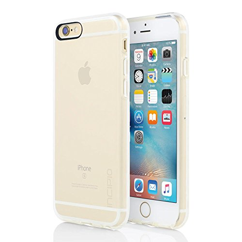 Incipio iPhone 6S Case, NGP Pure Case [Flexible][Shock Absorbing] Cover fits Both Apple iPhone 6, iPhone 6S - Clear