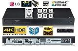 LG UBK80 SMART 4K UHD (Ultra High Definition) Blu-Ray /DVD/CD player with MULTIREGION