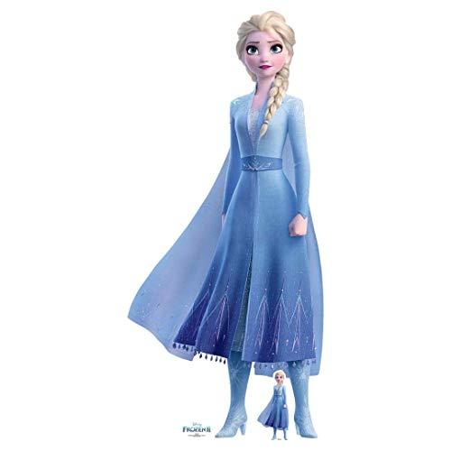 Star Cutouts Ltd SC1330 Arendelle 2, perfekt für Fans von Eiskönigin und Partys und Veranstaltungen, Höhe 182 cm, Breite 83 cm, Prinzessin Elsa