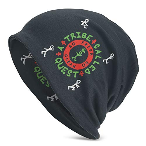 Beanie Hats A Tribe Called Que-st Unisex Adult Polyester Hat Cap Winter Outdoor Fashion Warm Caps Black