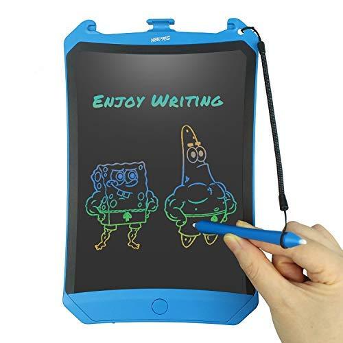 Preisvergleich Produktbild NEWYES LCD Schreibtafel,  Buntes Display 8, 5 Zoll Kinder Zeichentafel (Blau)