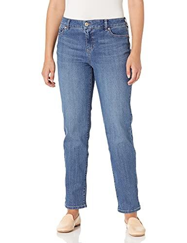 Bandolino Women's Mandie Signature Fit 5 Pocket Jean, Sonora, 16 Short