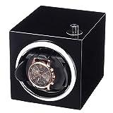 LGR Enrollador de Reloj silencioso, Mini Caja de Motor portátil Negra...