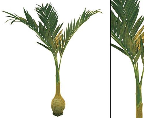 Palme künstlich, mit Knollenstam, Höhe 240cm - künstliche Palmen Südseepalmen Dekopalme