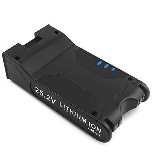 Advtronics 25,2V 2450mAh XBAT200 Batteria per Shark XBAT200 Batteria Aggiuntiva per Shark Aspirapolvere Senza Fili