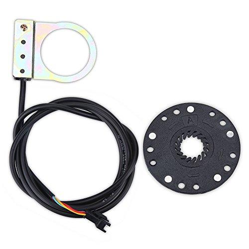 Dilwe Sensor del Pedal de la Bicicleta, Accesorio eléctrico del Sensor del...