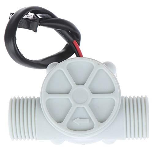 MAIOPA Meter Durchfluss-Messzähler Sensor Control Effekt Flowmeter Halle 1-30L / min for Arduino 1/2 '' Water Flow-Sensor-Schalter Hilfreiches Zubehör