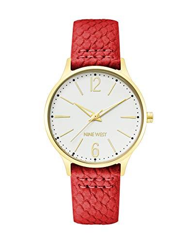 Nine West Dress Watch (Model: NW/2560SVRD)