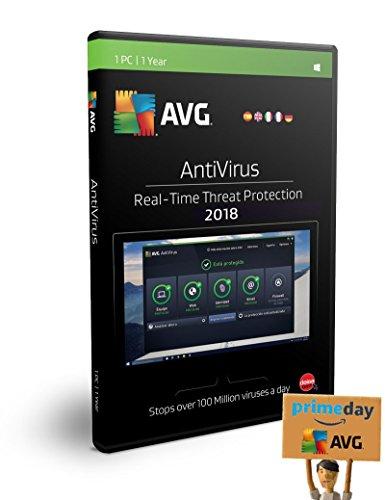 AVG AntiVirus 1 Utilisateur | 12 Mois