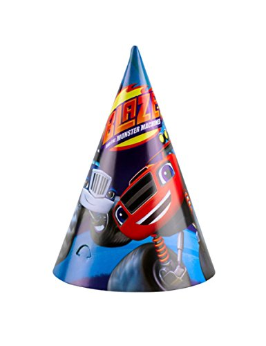 Amscan Mütze Cono Blaze, mehrfarbig, 7AM9901361