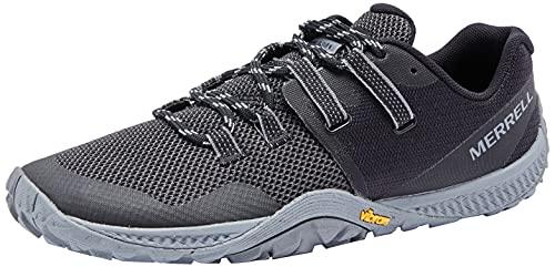 Merrell Trail Glove 6, Zapatillas Hombre, Black, 44 EU