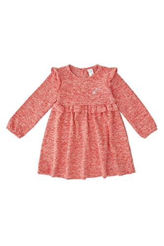 DeFacto Robe et jupe pour bébé fille - Coupe régulière - Rouge - 6-9 mois